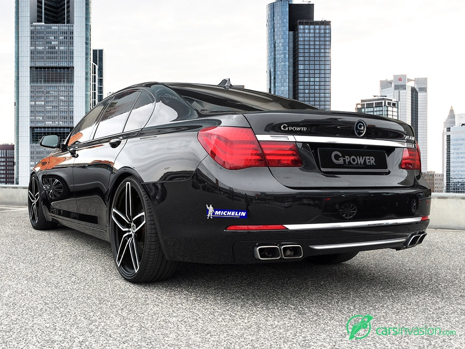 2015 G-Power BMW 760i F01 Rear Angle