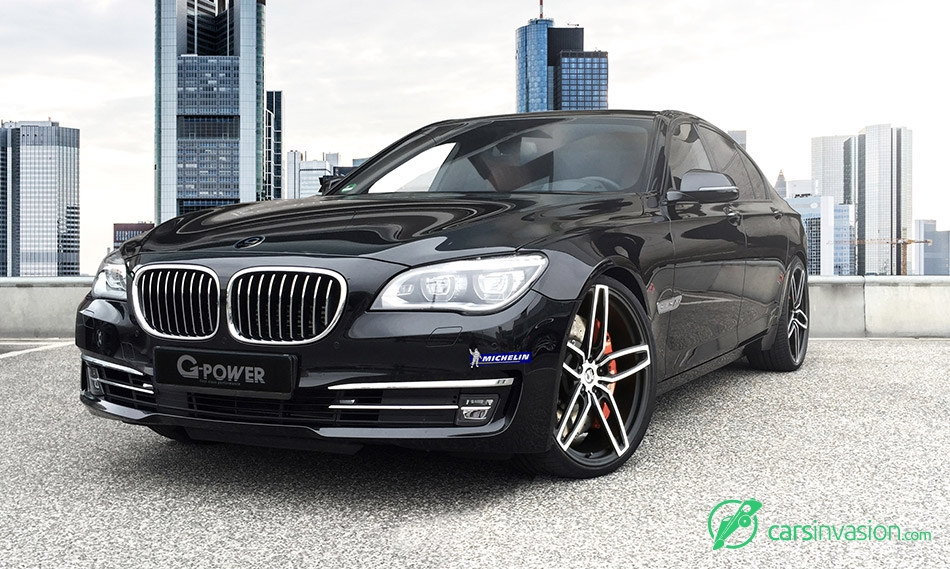 2015 G-Power BMW 760i F01 Front Angle