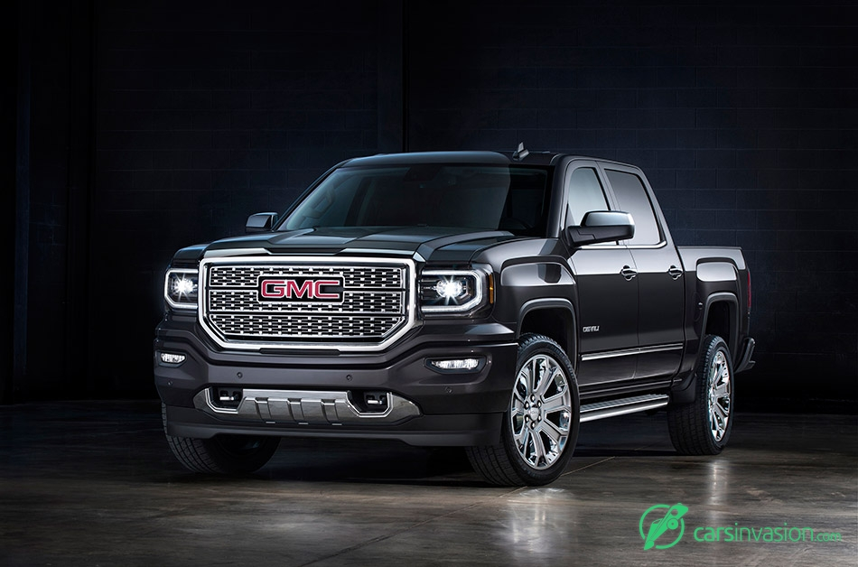 2016 GMC Sierra Front Angle