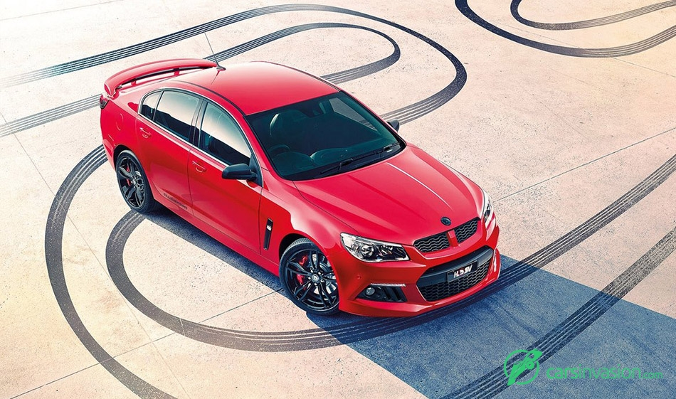 2015 HSV ClubSport R8 25th Anniversary Front Angle