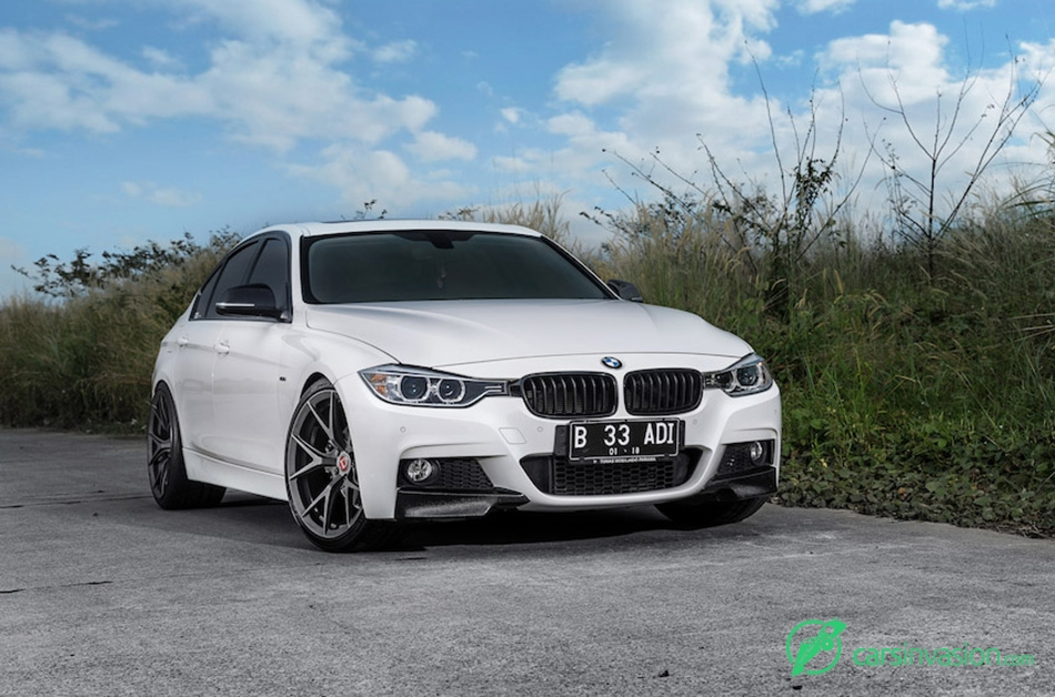 2015 Klassen BMW F30 335i Front Angle