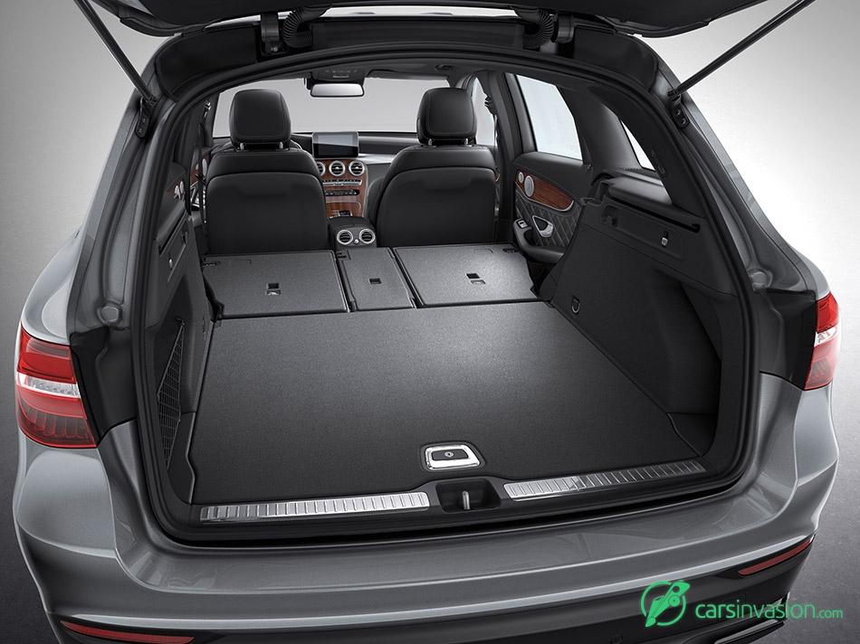 2016 Mercedes-Benz GLC Trunk Space