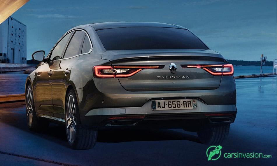 2016 Renault Talisman Rear Angle