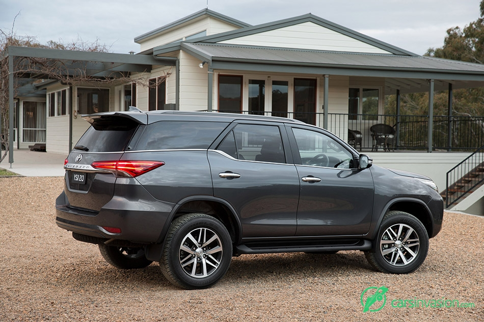 2015 Toyota Fortuner Rear Angle