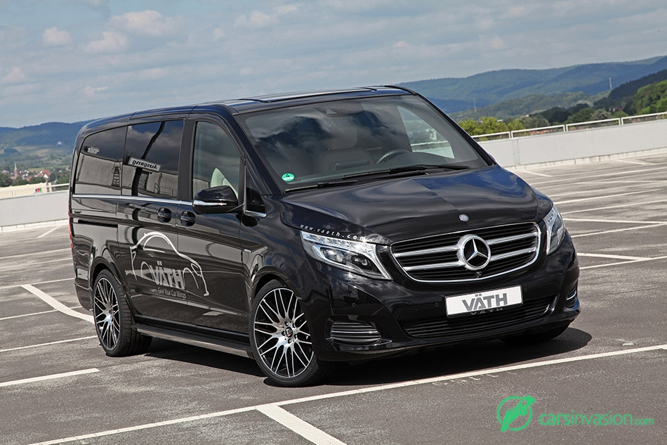 2015 VATH Mercedes-Benz V-class Front Angle