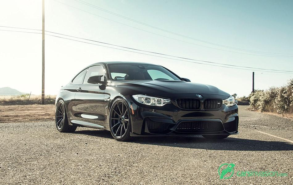 2015 Vorsteiner BMW M4 EVO Front Angle
