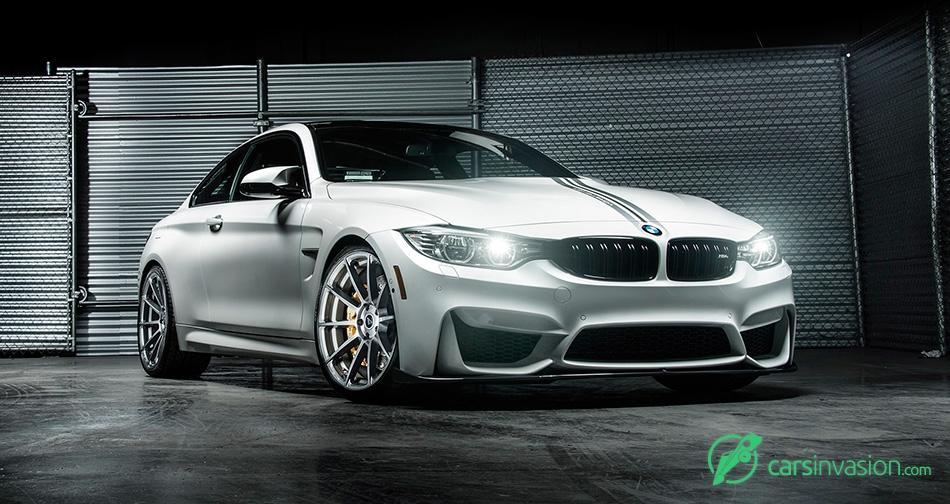 2015 Vorsteiner BMW M4 Evo Aero Program Front Angle