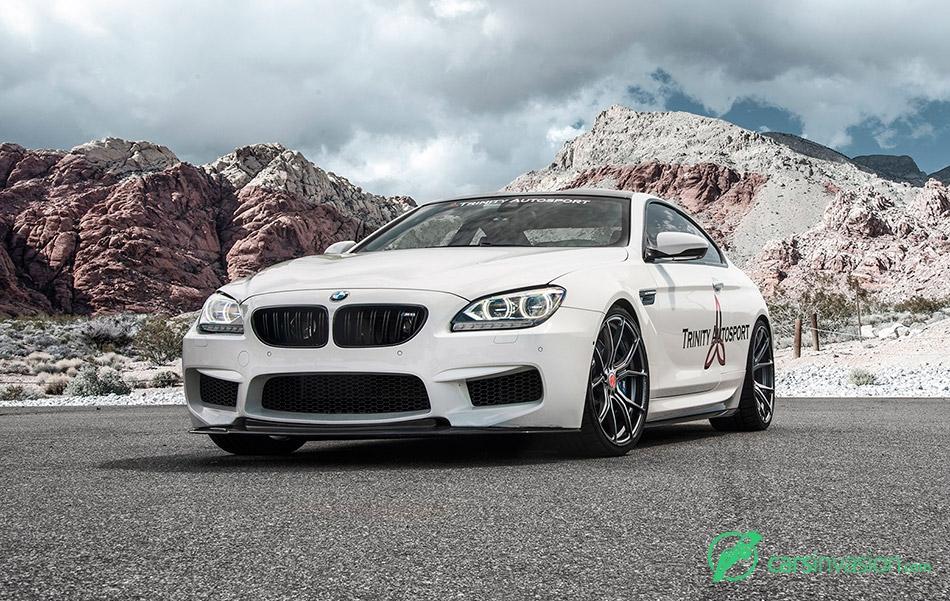 2015 Vorsteiner BMW M6 Carbon Graphite V-FF 103 Front Angle