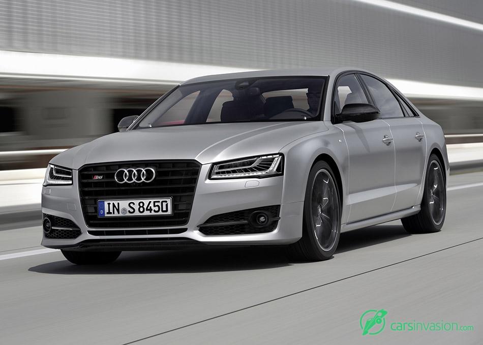2016 Audi S8 plus Front Angle