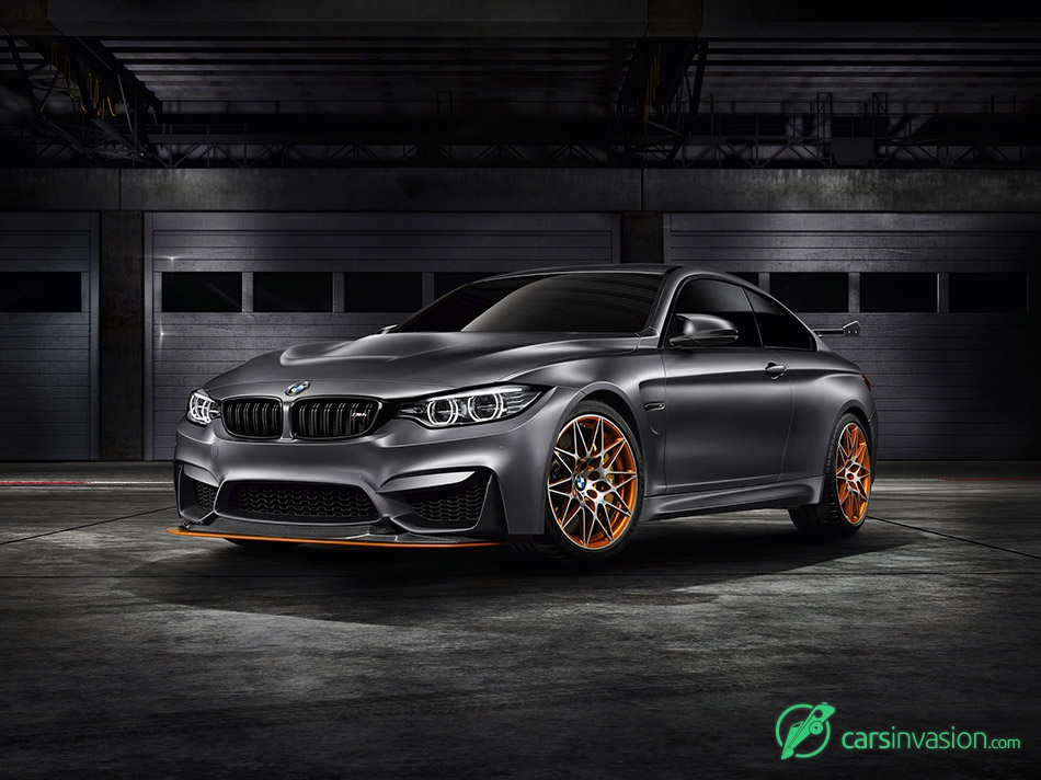 2015 BMW M4 GTS Concept Front Angle