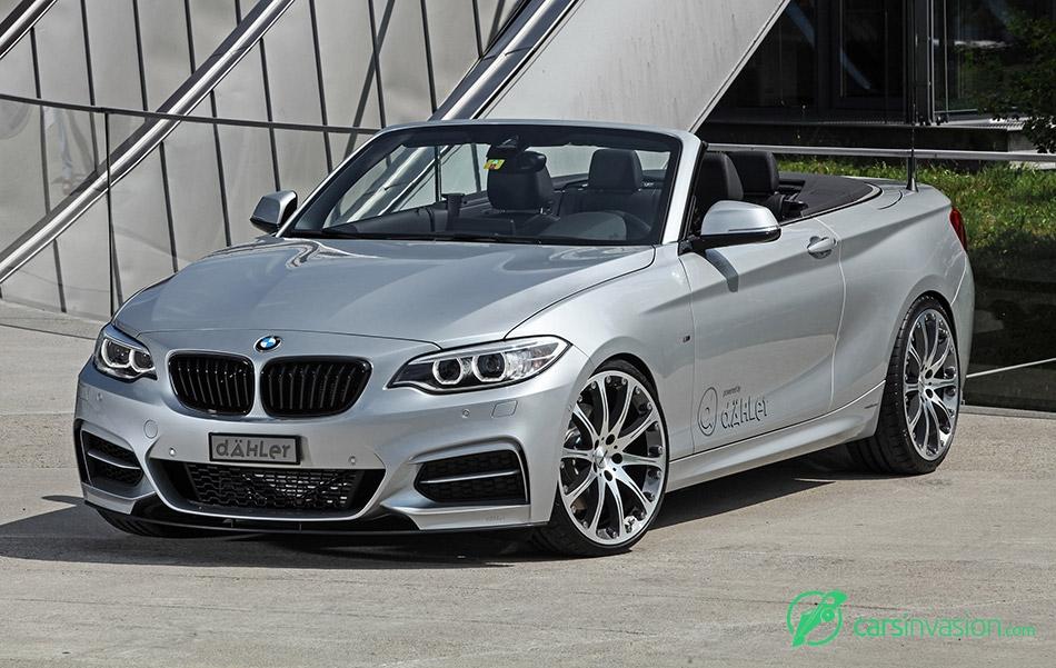 2015 DAHLER BMW M235i Cabriolet Front Angle