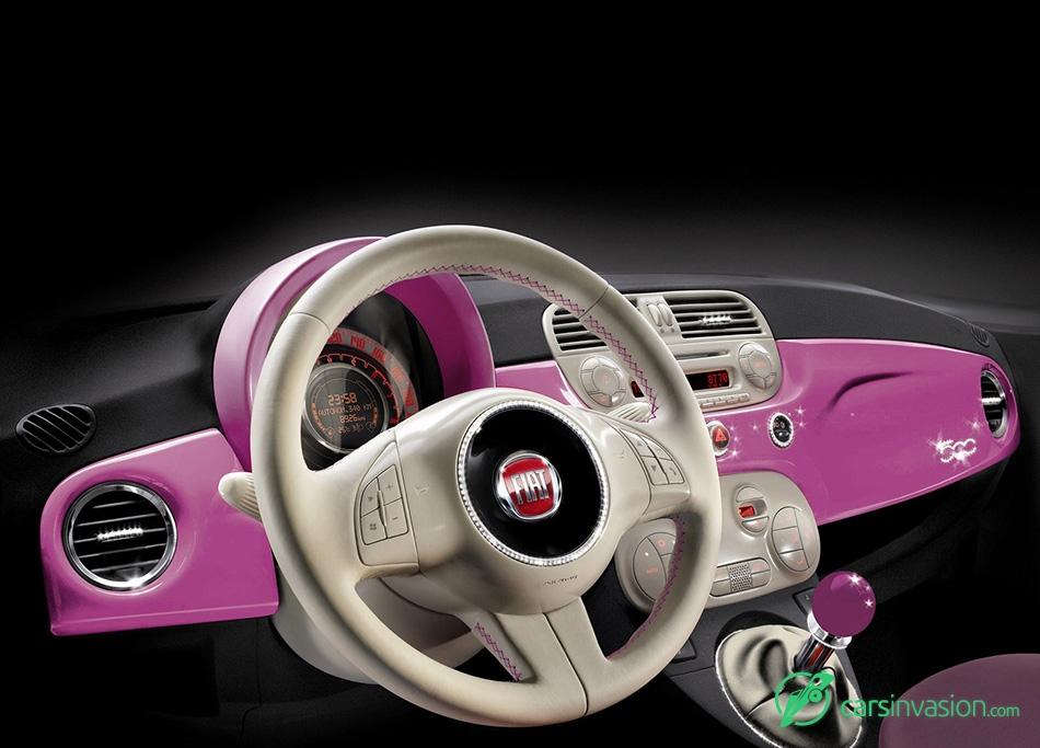 2009 Fiat 500 Barbie Concept Interior