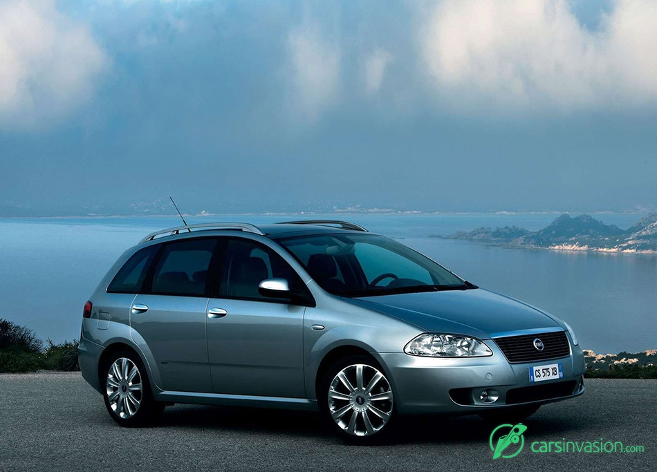 2005 Fiat Croma Fornt Angle