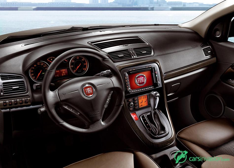 2008 Fiat Croma Interior