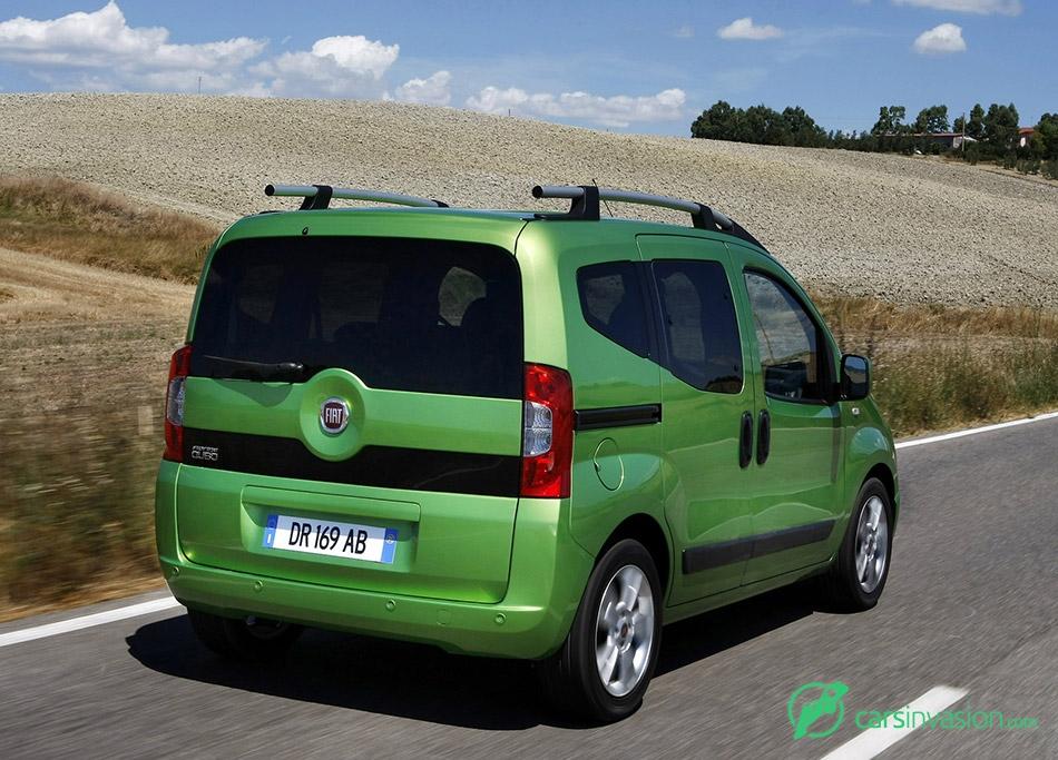 2009 Fiat Fiorino Qubo Rear Angle