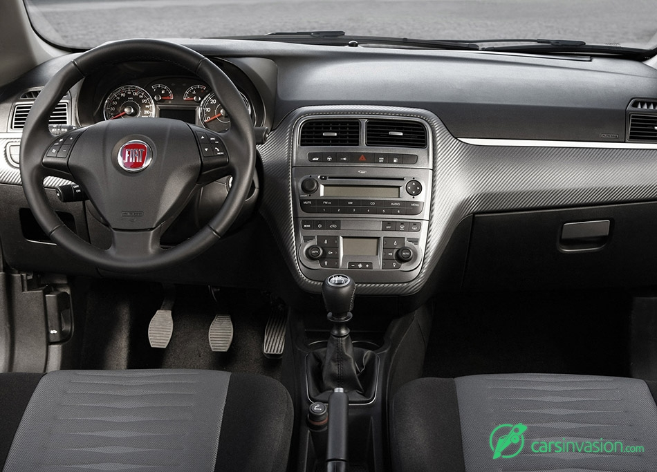 2009 Fiat Grande Punto Natural Power Interior