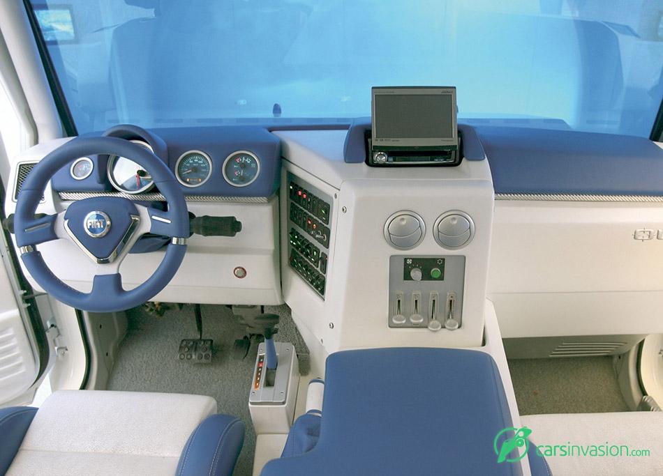 2005 Fiat Oltre Concept Interior