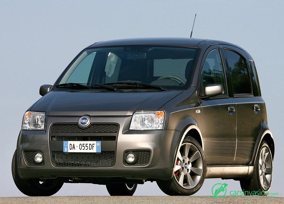 2007 Fiat Panda 100HP Front Angle