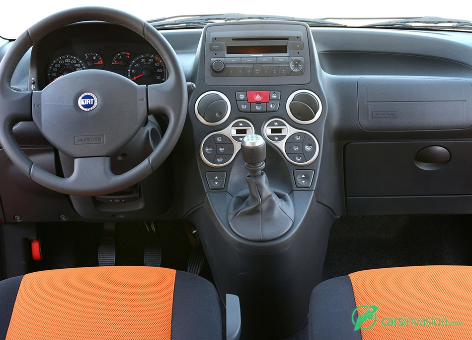 2006 Fiat Panda Cross Interior