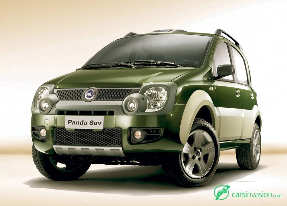 2006 Fiat Panda Cross Front Angle