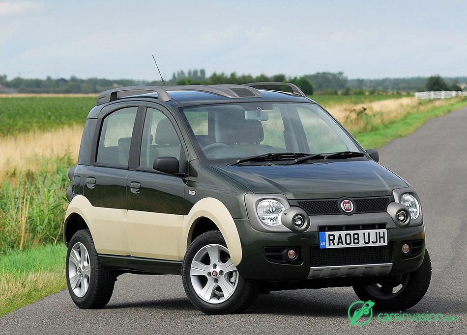 2008 Fiat Panda Cross Front Angle