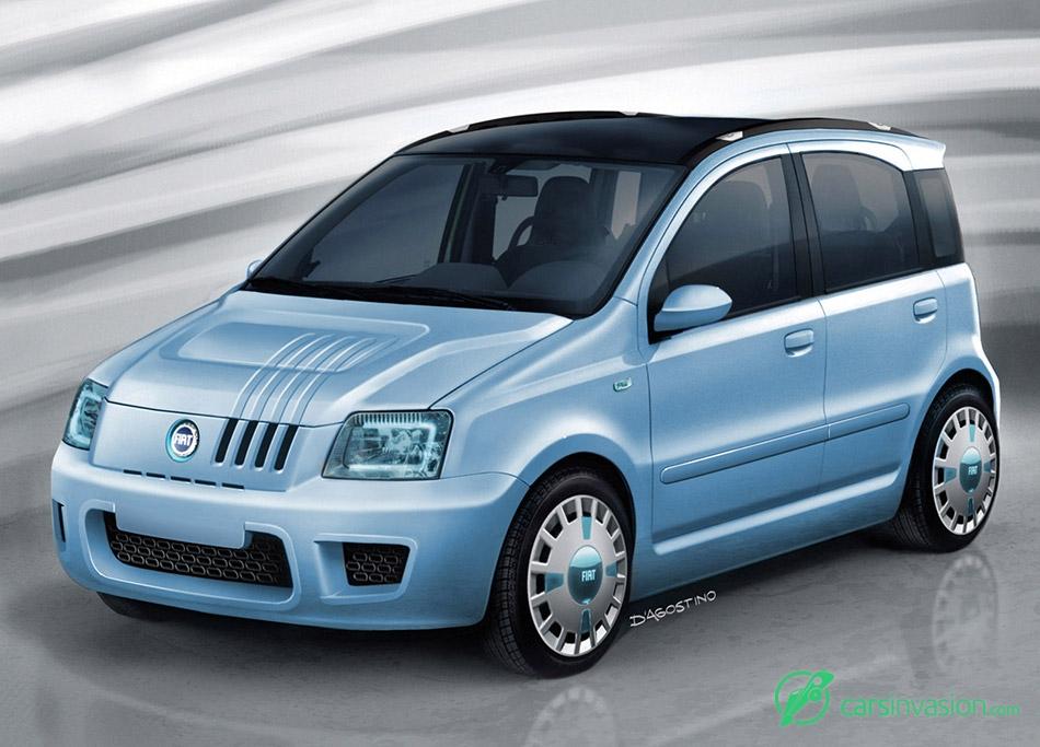 2006 Fiat Panda Multi Eco Concept Front Angle