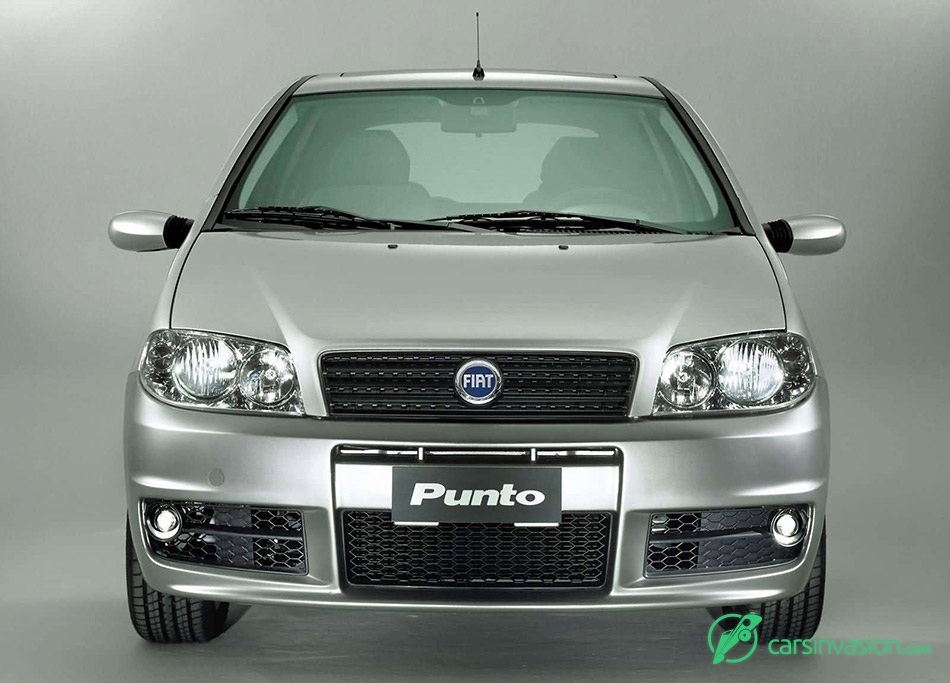 2003 Fiat Punto Sporting Front Angle