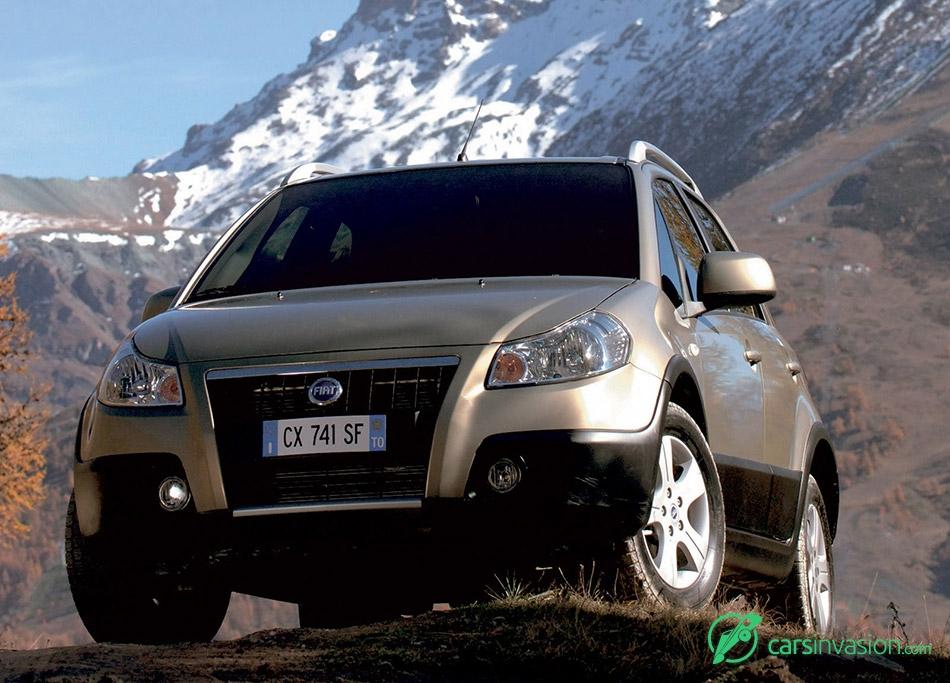 2006 Fiat Sedici Front Angle