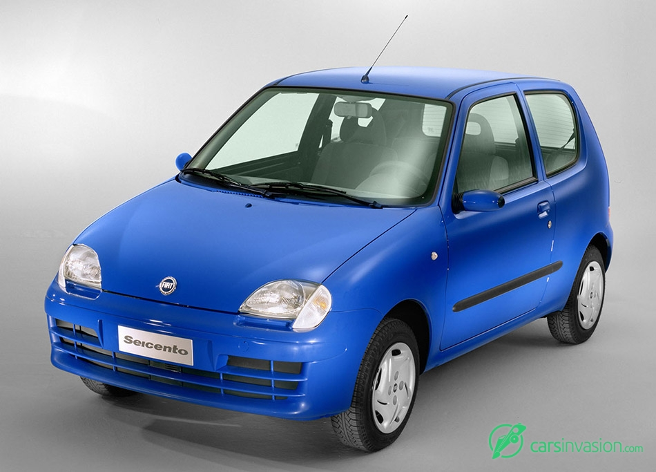 2004 Fiat Seicento Front Angle