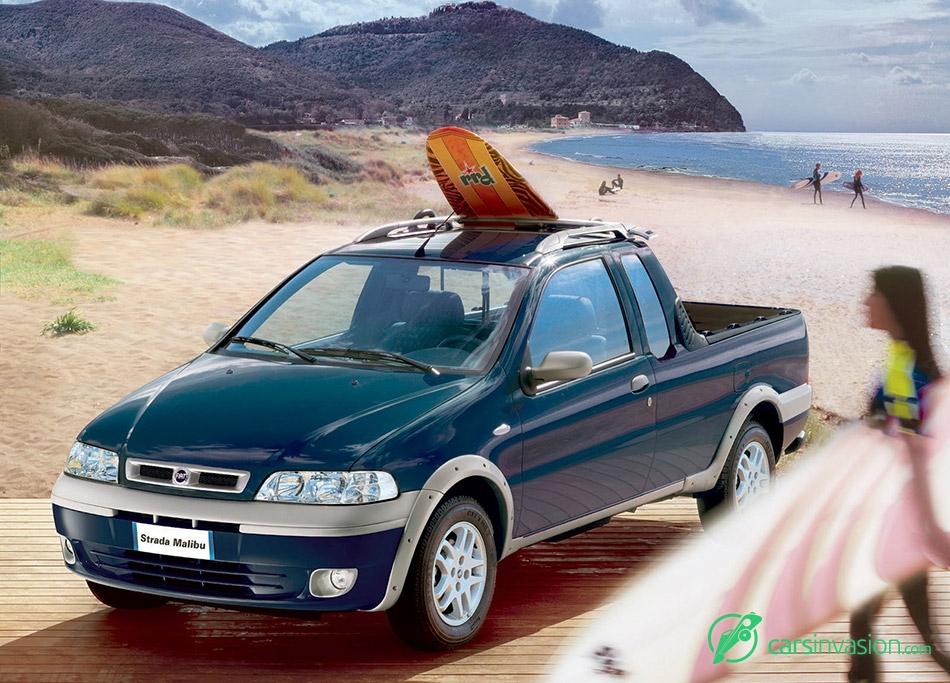 2004 Fiat Strada Malibu Front Angle
