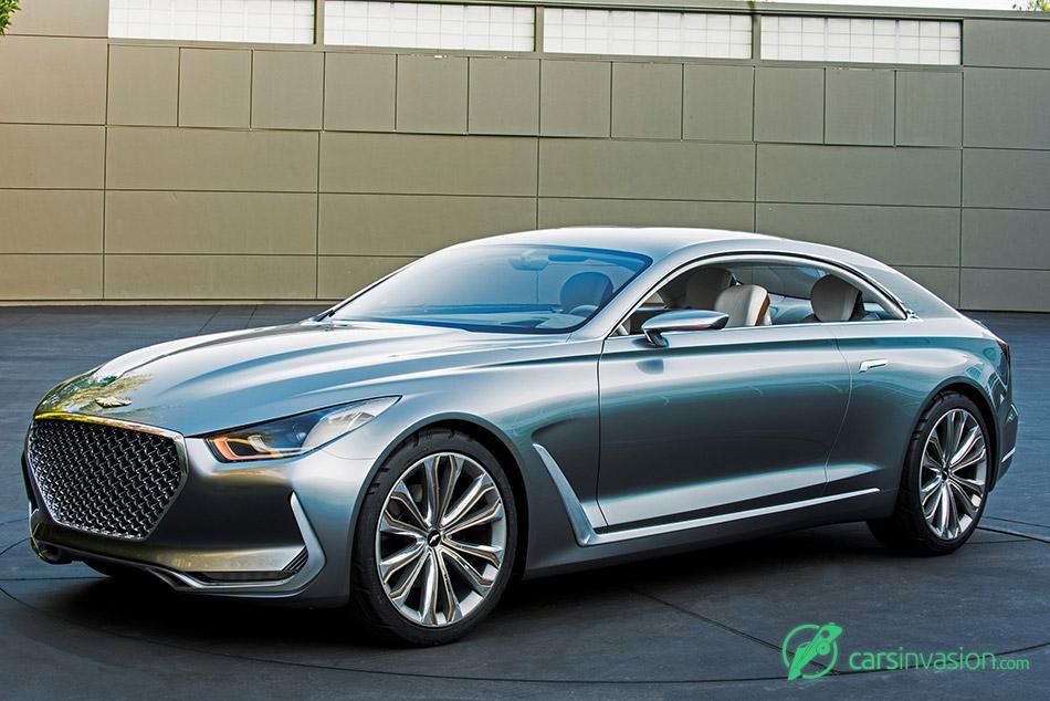 2015 Hyundai Vision G Concept Front Angle