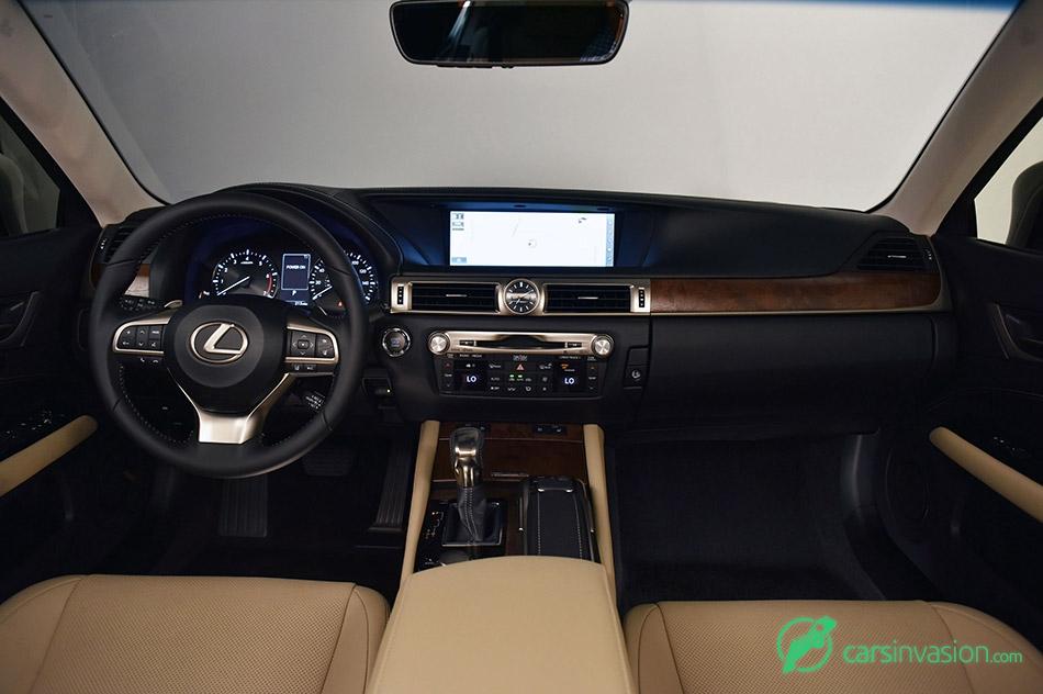 2016 Lexus GS 200t Interior