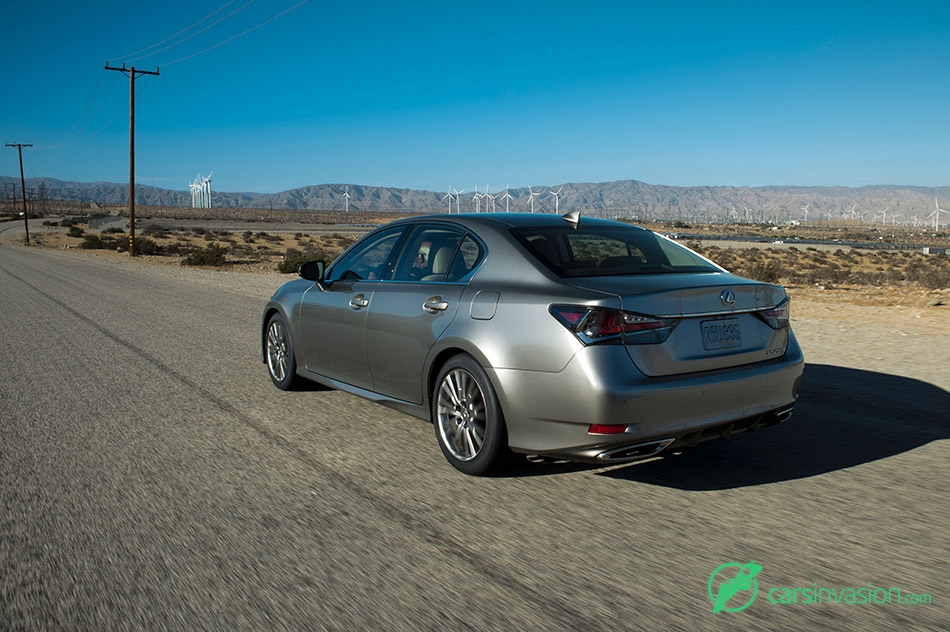 2016 Lexus GS 200t Rear Angle