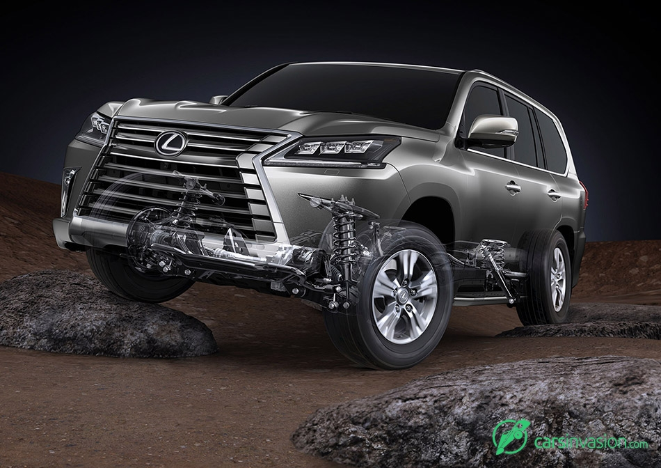 2016 Lexus LX 570 Front Angle Suspension