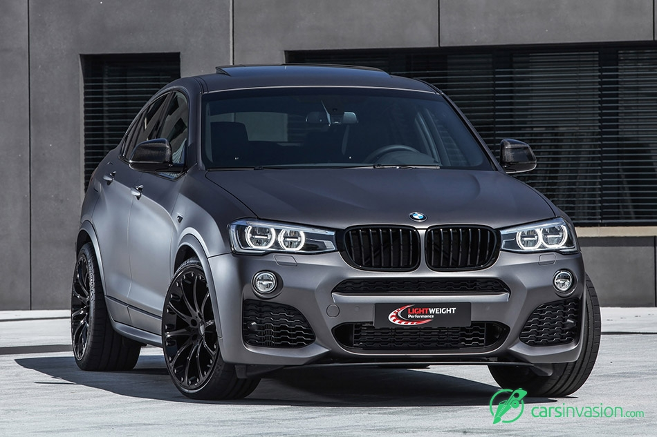 2015 LightWeight BMW X4 Front Angle