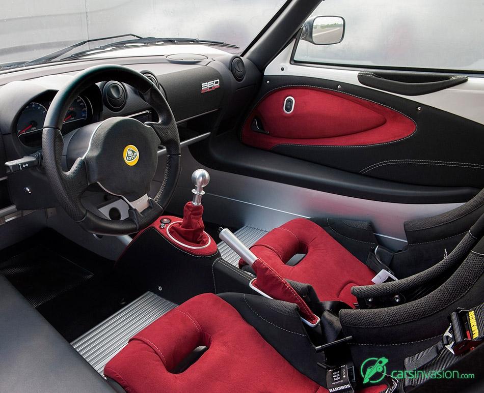 2016 Lotus Exige 360 Cup Interior