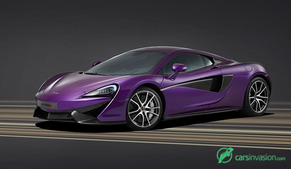 2015 McLaren MSO 570S Coupe Front Angle