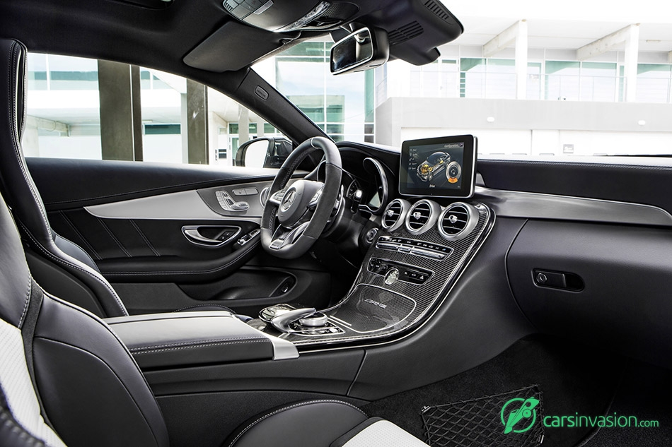 2017 Mercedes-Benz C63 AMG Coupe Interior