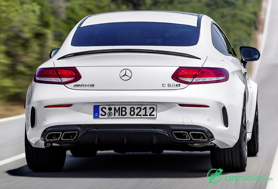 2017 Mercedes-Benz C63 AMG Coupe Rear Exhaust System