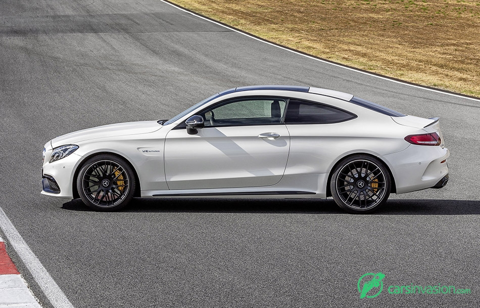 2017 Mercedes-Benz C63 AMG Coupe Side