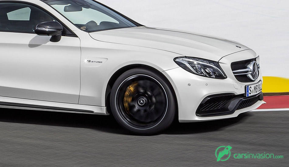 2017 Mercedes-Benz C63 AMG Coupe Suspension