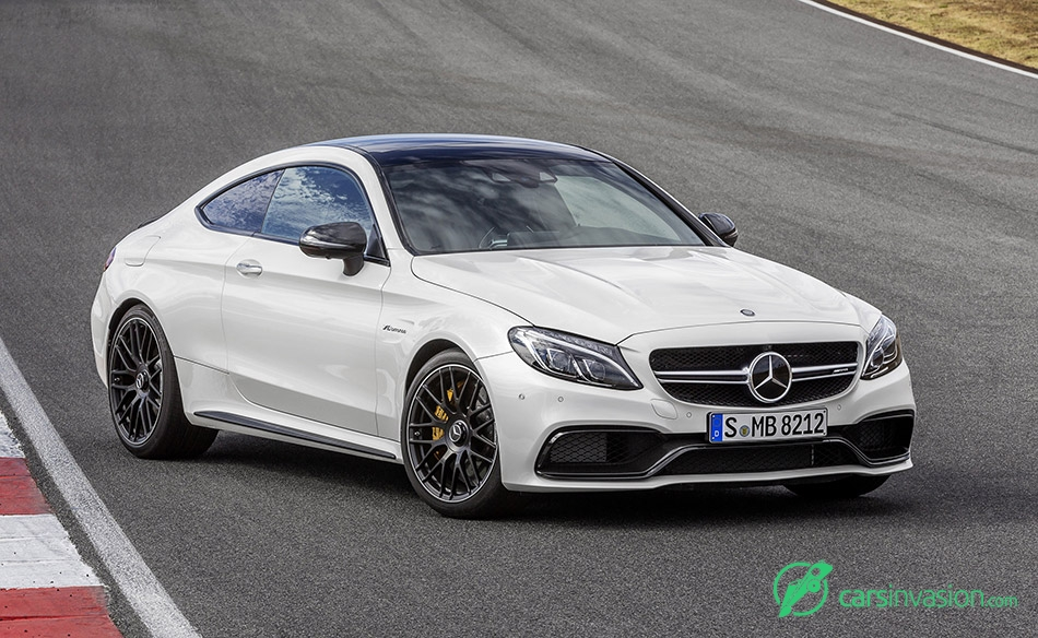 2017 Mercedes-Benz C63 AMG Coupe Front Angle
