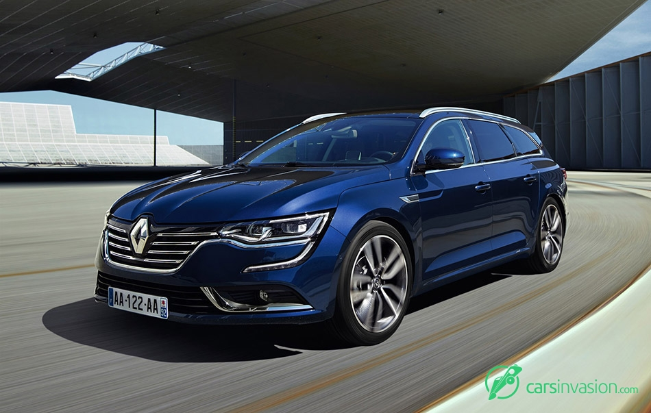2016 Renault Talisman Estate Front Angle