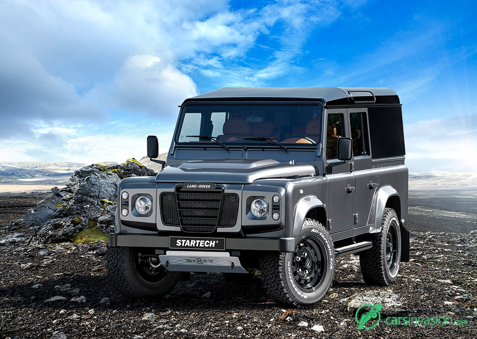 2015 Startech Land Rover Sixty8 Front Angle