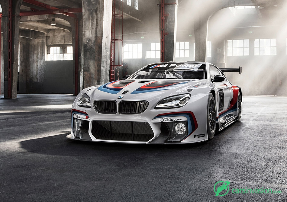 2016 BMW M6 GT3 Front Angle