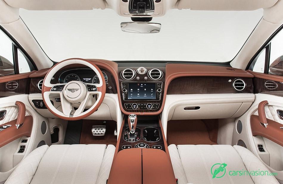 2016 Bentley Bentayga Interior