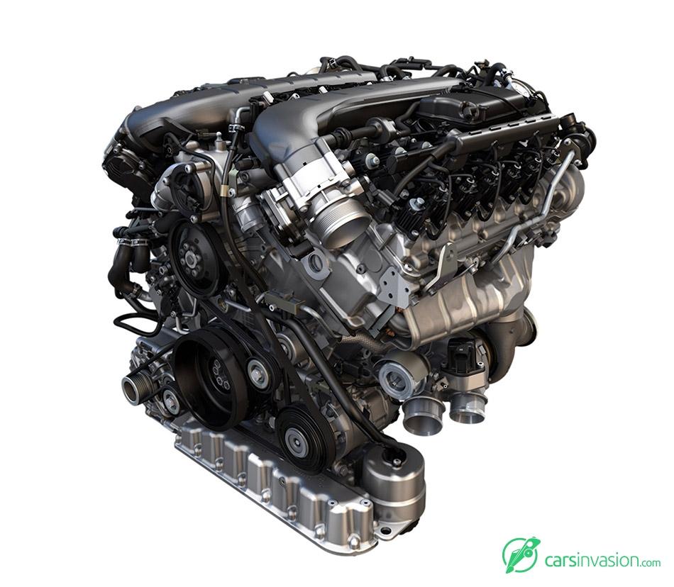 2016 Bentley Bentayga W12 Engine