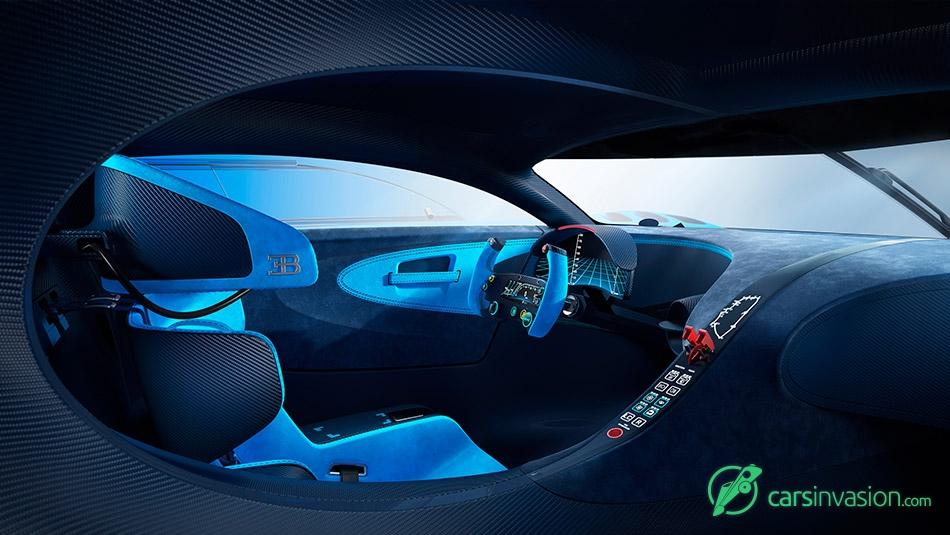 2015 Bugatti Vision Gran Turismo Concept Interior