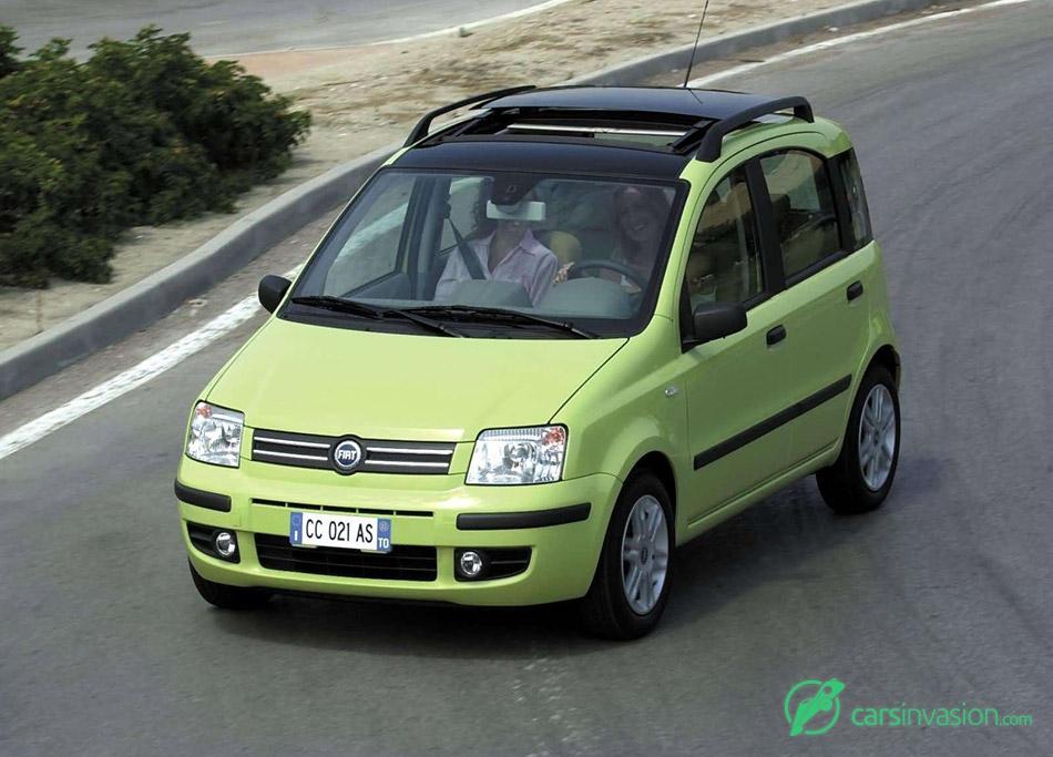 2003 Fiat Panda Emotion Front Angle