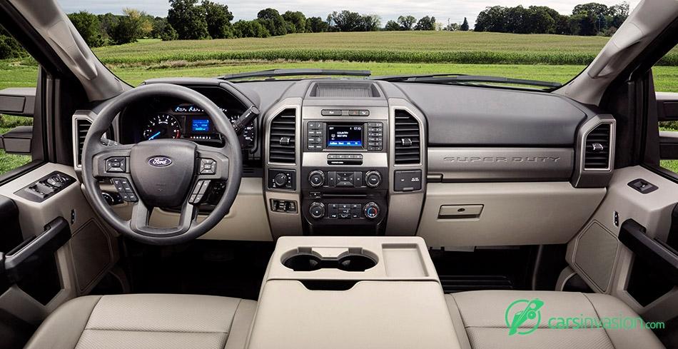 2017 Ford F-Series Super Duty Interior